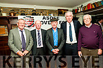 Asdee Rovers Soccer Club Social :Attending the Asdee Rovers Soccer Club Social to celebrate their 40th anniversary at the Cliff House Hotel , Ballybunion on Saturday night last were founder members Jack Hennessy, Mike Doyle & John Paul Galvin pictured with Michael Healy-Rae & John Delaney of the FAI.