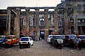 1/25/2004--Calcutta, India..The Marble Palace (abandoned wing), located on Muktarambabu Street off Chittaranjan Avenue in North Calcutta. ..Photograph by Stuart Isett.©2004 Stuart Isett. All rights reserved