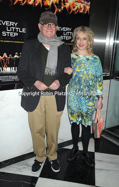 Buck Henry and Carol Kane