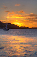Sunset from Francis Bay<br />