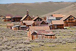 Gold Mining Ghost Town, Bodie, Eastern Sierra, California, USA.  Photo copyright Lee Foster.  Photo # california121036