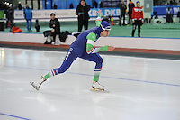 SPEED SKATING: STAVANGER: Sørmarka Arena, 31-01-2016, ISU World Cup, 500m Men Division A, Kai Verbij (NED), ©photo Martin de Jong