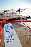 Windsurfers. Compton Bay Photographs of the Isle of Wight by photographer Patrick Eden