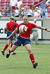 6 June 2004: Christie Welsh before the game. The United States tied Japan 1-1 at Papa John's Cardinal Stadium in Louisville, KY in an international friendly soccer game..