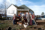 Russellville, Arkansas, U.S.A, 1980. America severly marked by the recession. The Shaddon family suffering from poverty.