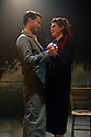 London, UK. 02.10.2012. A LIFE, by Hugh Leonard, directed by Eleanor Rhode, opens at the Finborough Theatre. Picture shows: Robert Lonsdale (Lar) and Mary Mallen (Mibs). Photo credit: Jane Hobson