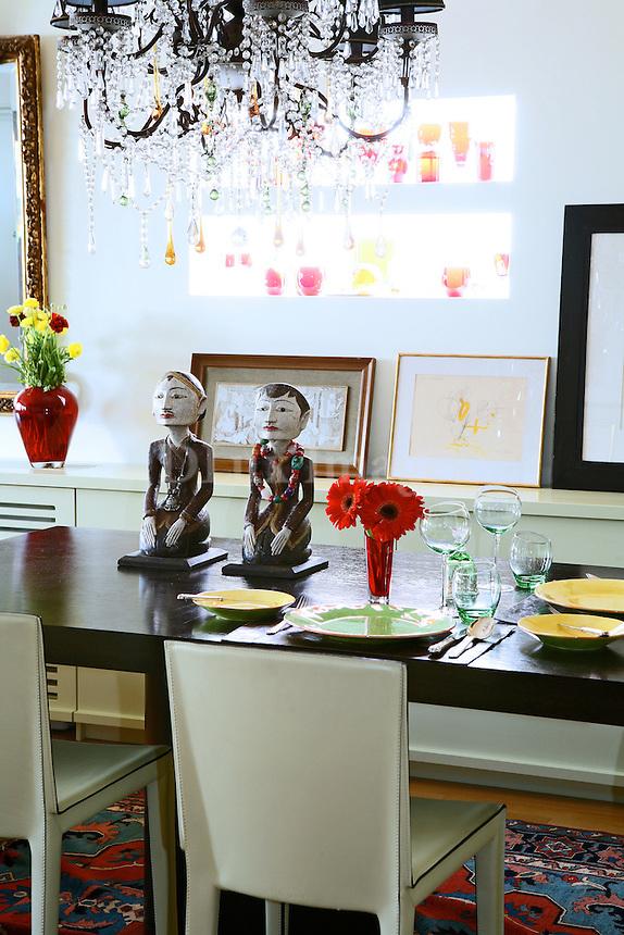modern art deco dining room