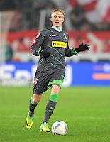 FUSSBALL   1. BUNDESLIGA  SAISON 2011/2012   19. Spieltag   29.01.2012 VfB Stuttgart - Borussia Moenchengladbach    Oscar Wendt (Borussia Moenchengladbach)