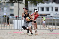 Action from the Turbo Touch Beach Series at Oriental Bay Beach, Oriental Parade, Wellington, New Zealand on Sunday 18January 2015. <br /> Photo by Masanori Udagawa.<br /> www.photowellington.photoshelter.com.