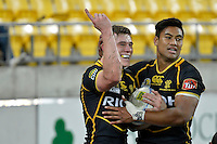 ITM Cup rugby match between Wellington Lions and Hawkes Bay at Westpac Stadium, Wellington, New Zealand on Tuesday, 28 August 2012<br /> Photo by Masanori Udagawa<br /> www.photowellington.com