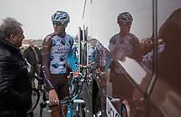 Stijn Vandenbergh (BEL/AG2R-LaMondiale) pr&eacute;-race<br /> <br /> 60th E3 Harelbeke (1.UWT)<br /> 1day race: Harelbeke &rsaquo; Harelbeke - BEL (206km)