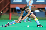 12 September 2014: North Carolina's Samantha Travers (ZIM). The University of North Carolina Tar Heels hosted the Syracuse University Orange at Francis E. Henry Stadium in Chapel Hill, North Carolina in a 2014 NCAA Division I Field Hockey match. UNC won the game 3-0.