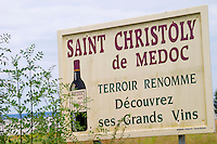 Chateau Saint Christoly, Medoc, Bordeaux, France