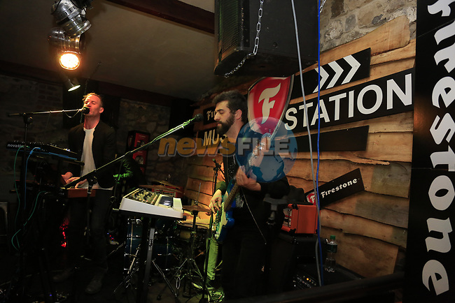 Makings at the Firestone Battle of the Bands 2017 in odd Mollies, Drogheda, CoLouth.<br /> Picture: Newsfile   Fran Caffrey<br /> <br /> <br /> All photo usage must carry mandatory copyright credit (&copy; Newsfile   Fran Caffrey)