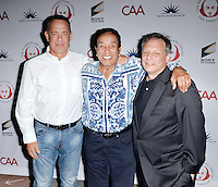 LOS ANGELES, CA - SEPTEMBER 19: Tom Hanks, Smokey Robinson and Ben Donenberg at the 26th Annual Simply Shakespeare Benefit at The Freud Playhouse at UCLA Campus in Los Angeles, California on September 19, 2016. Credit: Koi Sojer/Snap'N U Photos/MediaPunch