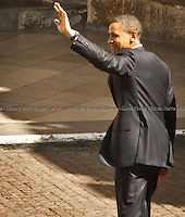 Barack Obama - 2011<br /> <br /> London, 24/05/2011. The US President Barack Obama and his wife Michelle Obama arrived at Westminster Abbey during their first state visit to the United Kingdom.