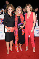 LONDON, UK. October 31, 2016: Nadia sawalha, Linda Robson &amp; Kay Adams at the Pride of Britain Awards 2016 at the Grosvenor House Hotel, London.<br /> Picture: Steve Vas/Featureflash/SilverHub 0208 004 5359/ 07711 972644 Editors@silverhubmedia.com