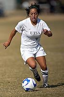 SAN ANTONIO, TX - NOVEMBER 4, 2007: The McNeese State University Cowgirls vs. The University of Texas at San Antonio Roadrunners Women's Soccer at the UTSA Soccer Field. (Photo by Jeff Huehn)