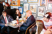 Hope Hicks with Donald Trump