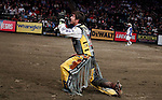 Professional Bull Riders tournament at the Madison Square Garden in New York, United States. 07/01/2012.  Photo by Kena Betancur / VIEWpress.