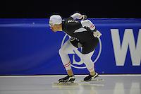 SCHAATSEN: HEERENVEEN: IJsstadion Thialf, 06-02-15, Training World Cup, Bram Smallenbroek (AUT), ©foto Martin de Jong