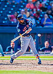 28 February 2017: Houston Astros outfielder Teoscar Hernandez in action during the Spring Training inaugural game against the Washington Nationals at the Ballpark of the Palm Beaches in West Palm Beach, Florida. The Nationals defeated the Astros 4-3 in Grapefruit League play. Mandatory Credit: Ed Wolfstein Photo *** RAW (NEF) Image File Available ***