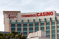 3 March 2007: Casino exterior overview at the World Poker Tour Invitational for the fifth annual tournament at the Commerce Casino in Los Angeles, CA.
