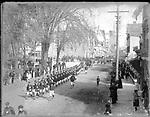 Frederick Stone negative. Parade, Stevenson, Cleveland Campaign Club.