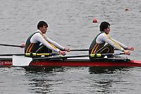 213 WindsorBoysSch J17A.2x..Marlow Regatta Committee Thames Valley Trial Head. 1900m at Dorney Lake/Eton College Rowing Centre, Dorney, Buckinghamshire. Sunday 29 January 2012. Run over three divisions.