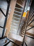 67 steps up and down to Miloje's apartment on Nisca Street, Belgrade, Serbia