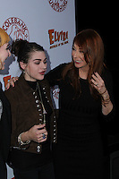 HOLLYWOOD, CA - OCTOBER 18: Cassandra Peterson, Frances Bean Cobain attends the launch party for Cassandra Peterson's new book 'Elvira, Mistress Of The Dark' at the Hollywood Roosevelt Hotel on October 18, 2016 in Hollywood, California. (Credit: Parisa Afsahi/MediaPunch).