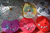Oriental Umbrella Display, China Town, Los Angeles CA