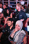 Spectators watching fight<br />