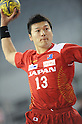 Tomita Kyosuke (JPN), OCTOBER 29, 2011 - Handball : Asian Men's Qualification for the London 2012 Olympic Games match between Japan 46-15 Kazakhstan in Seoul, Soth Korea.  (Photo by Takahisa Hirano/AFLO)