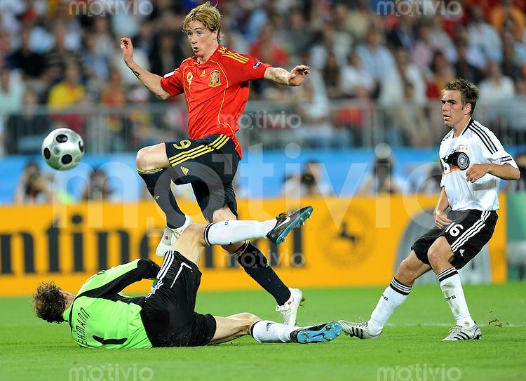 Fussball Euro 2008: Deutschland - Spanien   Sportfotos by ...
