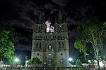 General view of Jardin's stone Cathedral in Antioquia August 1, 2012. Photo by Eduardo Munoz Alvarez / VIEW.