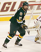Jack Downing (Vermont - 21) - The Boston College Eagles defeated the visiting University of Vermont Catamounts 6-0 on Sunday, November 28, 2010, at Conte Forum in Chestnut Hill, Massachusetts.