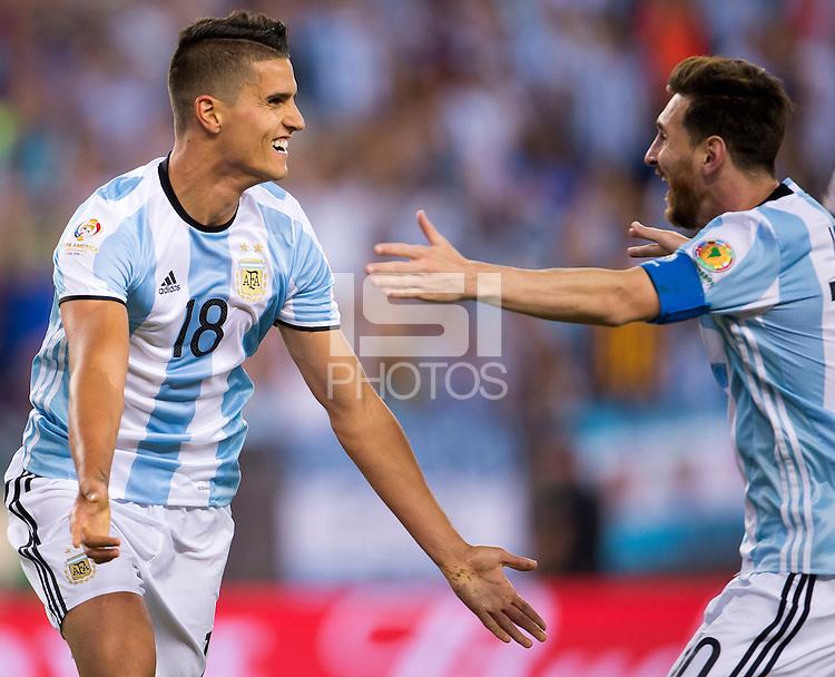 ¿Podemos ganar sin Messi?. Bauza: Lamela entra por Messi