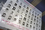 "A poster shows the faces and details of ""Wanted Criminals"", wanted by the polie for a variety of crimes in Tashkent, one of the cities of the old Silk Road. Uzbekistan is known as a hard line state, with little toleration of anti-social behaviour."