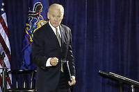 PHILADELPHIA, PA - OCTOBER 31 : Vice President Joe Biden pictured working to elect Hillary Clinton as the next President of the United States at the Philadelphia Democratic Party's Jefferson-Jackson Autumn Event at the Sheet Metal Workers Hall in Philadelphia, Pa on October 31, 2016  photo credit Star Shooter/MediaPunch