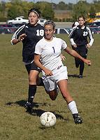 Girls JV Soccer vs Sheridan 10-4-08