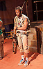 Liberian Girl <br /> at the Royal Court Theatre, London, Great Britain <br /> press photocall<br /> 9th January 2015 <br /> <br /> <br /> <br /> Landry Adelard as Soldier<br /> <br /> <br /> <br /> <br /> Photograph by Elliott Franks <br /> Image licensed to Elliott Franks Photography Services