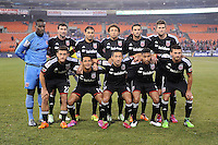 Washington, D.C. - Wednesday, March 4, 2015: D.C. United defeated Alajuelense of Costa Rica 2-1 in the second leg of the CONCACAF Champions League quarter-final at RFK stadium.