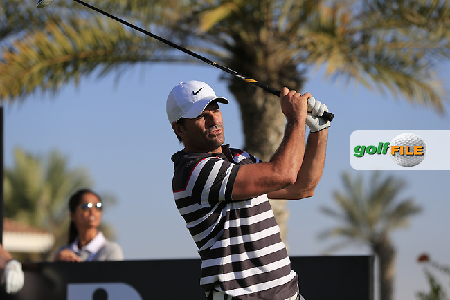 Allan Stanton during the 2015 Abu Dhabi Invitational Am-Am event held at Yas Links Golf Course, Abu Dhabi.: Picture Eoin Clarke, www.golffile.ie: 1/26/2015