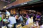 Bliss is among the chic cafes, restaurants and bars that are becoming the norm in the once seedy Itaewon district of of Seoul, South Korea on 25 June 2010..Photographer: Rob Gilhooly