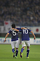 (L to R) Yuto Nagatono, Shinji Kagawa (JPN), OCTOBER 11, 2011 - Football / Soccer : 2014 FIFA World Cup Asian Qualifiers Third round match between Japan 8-0 Tajikistan at Nagai Stadium in Osaka, Japan. (Photo by Akihiro Sugimoto/AFLO SPORT) [1080]