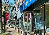 State Street shops, Kennett Square, Pennsylvania