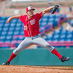 29 February 2016: Washington Nationals pitcher Stephen Strasburg on the mound during an inter-squad pre-season Spring Training game at Space Coast Stadium in Viera, Florida. Mandatory Credit: Ed Wolfstein Photo *** RAW (NEF) Image File Available ***