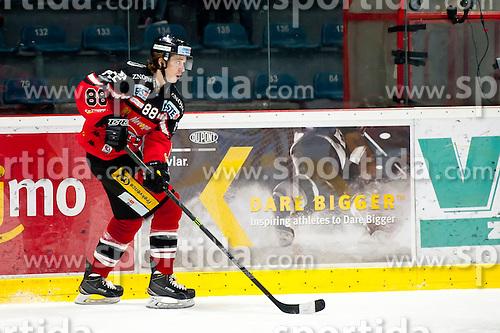 17.11.2015, Ice Rink, Znojmo, CZE, EBEL, HC Orli Znojmo vs EC Red Bull Salzburg, 21. Runde, im Bild Libor Sulak (HC Orli Znojmo) // during the Erste Bank Icehockey League 21th round match between HC Orli Znojmo and EC Red Bull Salzburg at the Ice Rink in Znojmo, Czech Republic on 2015/11/17. EXPA Pictures © 2015, PhotoCredit: EXPA/ Rostislav Pfeffer