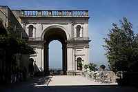 Villa d'Este di Tivoli, patrimonio mondiale dell' UNESCO..Villa d'Este is included in the UNESCO world heritage list.